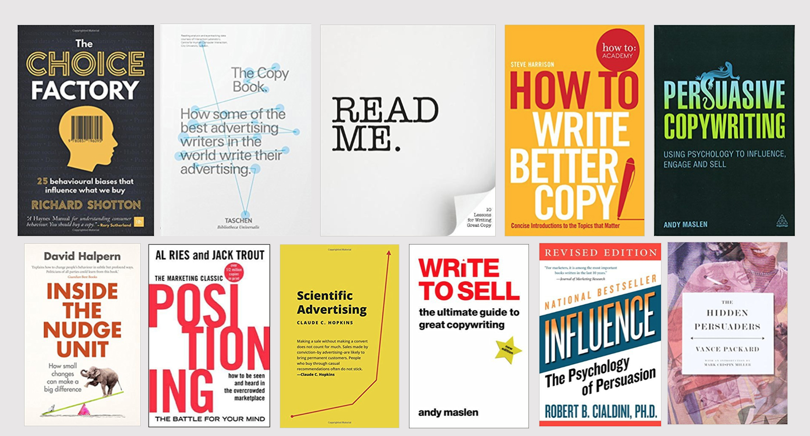 5 essential books for anyone working in advertising or marketing