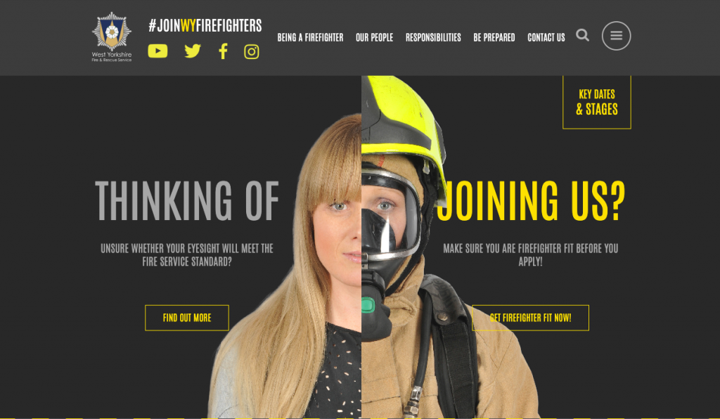 West Yorkshire Fire & Rescue brand advocacy